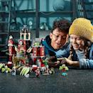 """<p><strong>LEGO</strong></p><p>amazon.com</p><p><strong>$129.99</strong></p><p><a href=""""https://www.amazon.com/dp/B07NRT2926/?tag=syn-yahoo-20&ascsubtag=%5Bartid%7C10055.g.29622713%5Bsrc%7Cyahoo-us"""" rel=""""nofollow noopener"""" target=""""_blank"""" data-ylk=""""slk:Shop Now"""" class=""""link rapid-noclick-resp"""">Shop Now</a></p><p>She might not be in high school yet herself, but she'll love playing with this LEGO set that <strong>combines augmented reality with physical play </strong>when paired with a tablet or smartphone<strong>. </strong>Kids built the haunted high school set, then use the app to solve mysteries and fight ghosts. It comes with more than 1,400 pieces (including a mini ghost dog figure!), so she'll be occupied for hours on end. <em>Ages 9+</em></p>"""