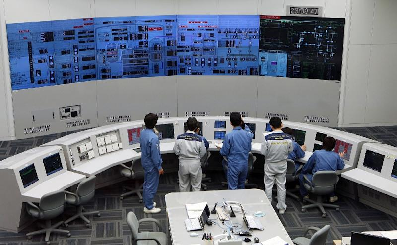The Japanese industry ministry favours nuclear power as a way to cut emissions of carbon dioxide and other greenhouse gases, despite a groundswell of public opposition since the nuclear crisis in Fukushima (AFP Photo/Japan Pool)