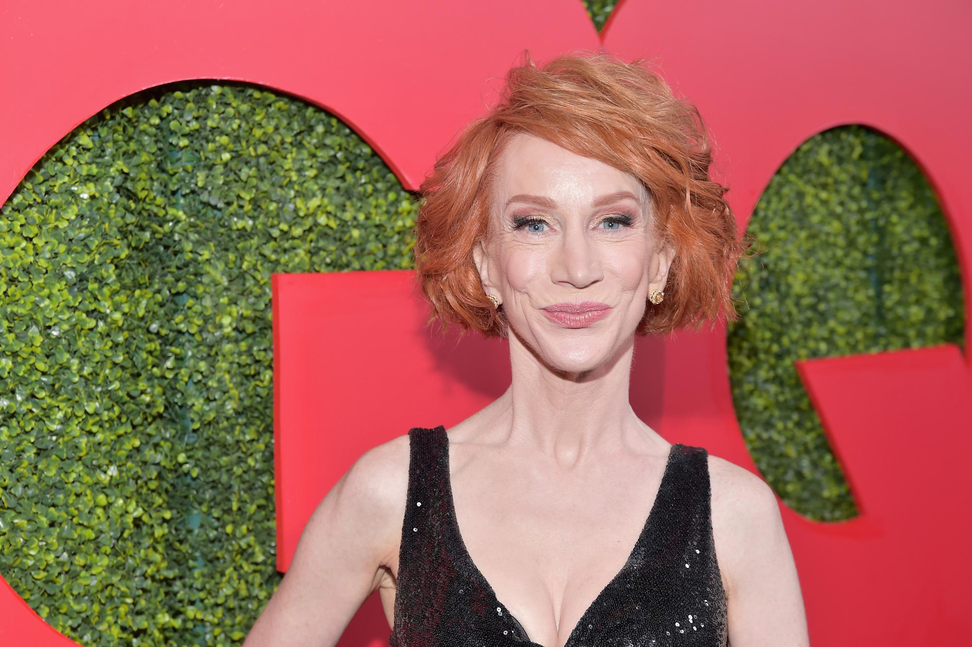 Kathy Griffin reveals lung cancer diagnosis, says she's also in recovery for drug addiction