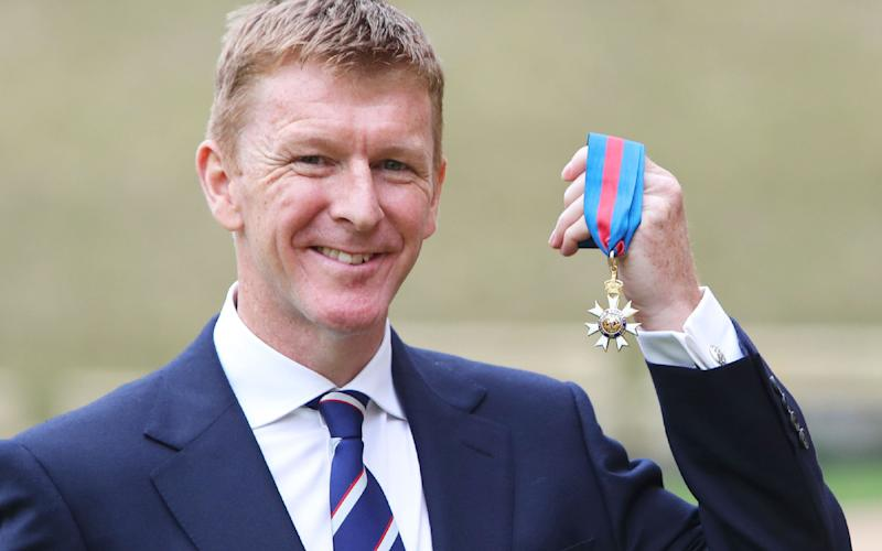 Astronaut Tim Peake dined with the Queen - Steve Parsons/AFP / Getty