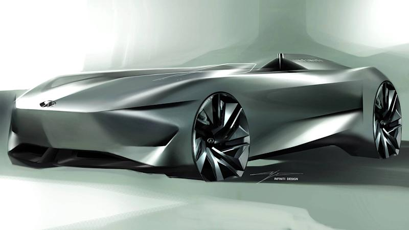 Infiniti S Latest Electric Concept Teaser Is Tantalising