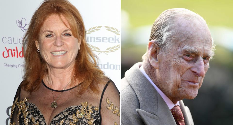 The Duke of Edinburgh reportedly refuses to be under the same roof as the Duchess of York. [Photos: PA]