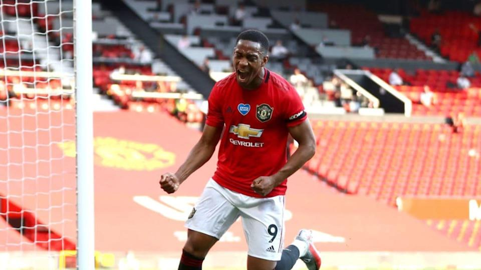 Anthony Martial   Michael Steele/Getty Images