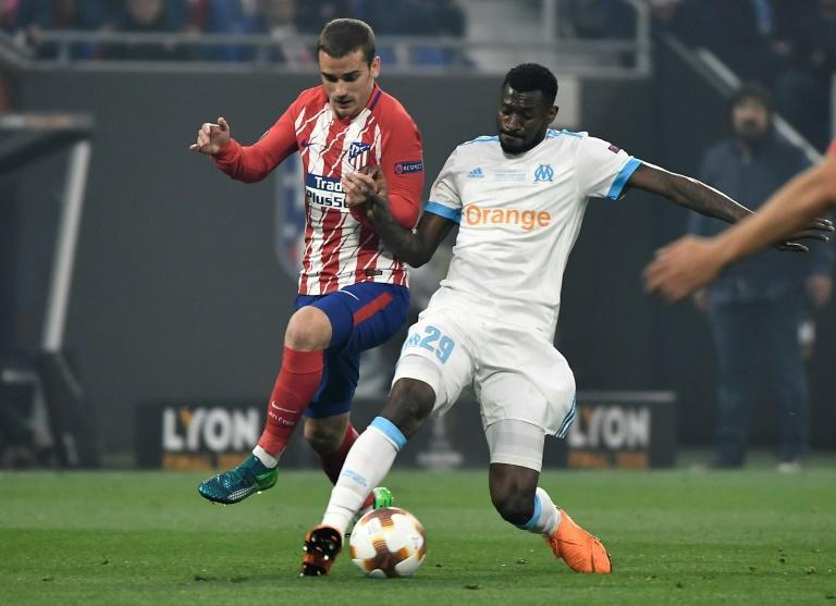 Frank Zambo Anguissa started Marseille's 3-0 loss to Atletico Madrid in the 2018 Europa League final