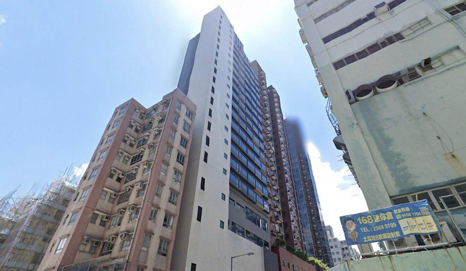 The facility was listed as a three-star hotel with 21 floors on an accommodation booking website. Photo: Handout