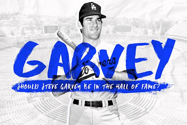 Examining the Hall of Fame case of Steve Garvey. (Amber Matsumoto / Yahoo Sports)