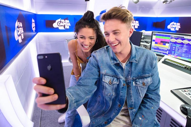 Breakfast team: Roman Kemp and Vick Hope (Capital Radio)