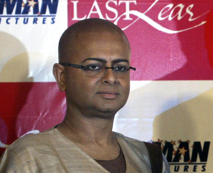 FILE- In this Sept. 12, 2008 file photo, Indian director Rituparno Ghosh poses for the media during a press conference in Calcutta, India. Ghosh, whose work includes award-winning films in the Bengali language, died Thursday, May 30, 2013 of cardiac arrest at age 49, news reports said. (AP Photo/Bikas Das, File)