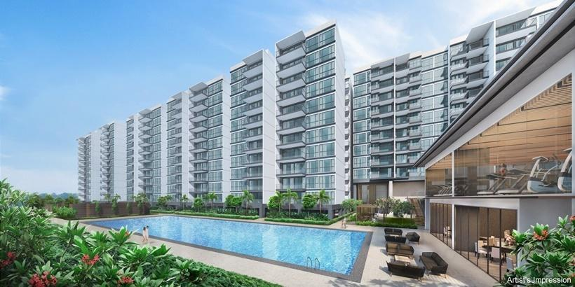 The 2,203-unit Treasure at Tampines is touted as the biggest condominium to be launched in Singapore...