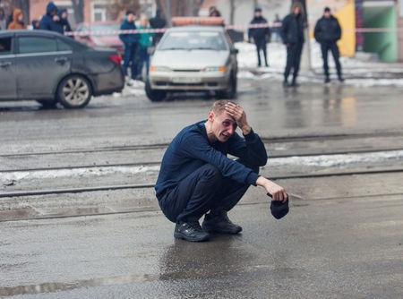 Funerals held of Russian Federation mall fire dead