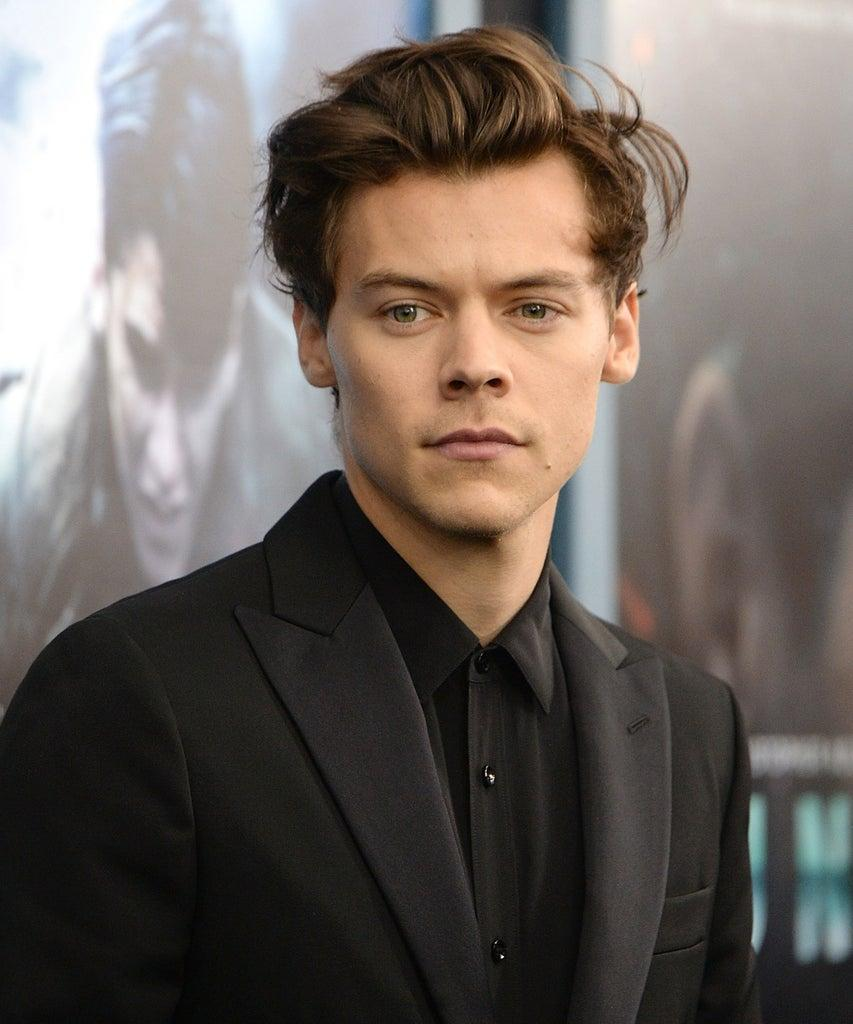 "NEW YORK, NEW YORK – JULY 18: Harry Styles attends the ""DUNKIRK"" premiere in New York City. (Photo by Kevin Mazur/Getty Images)"