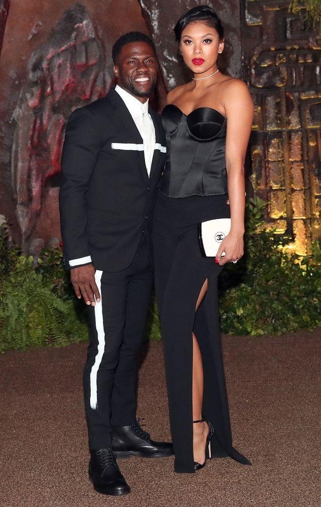 Kevin Hart & Wife Make First Red Carpet Appearance as New Parents