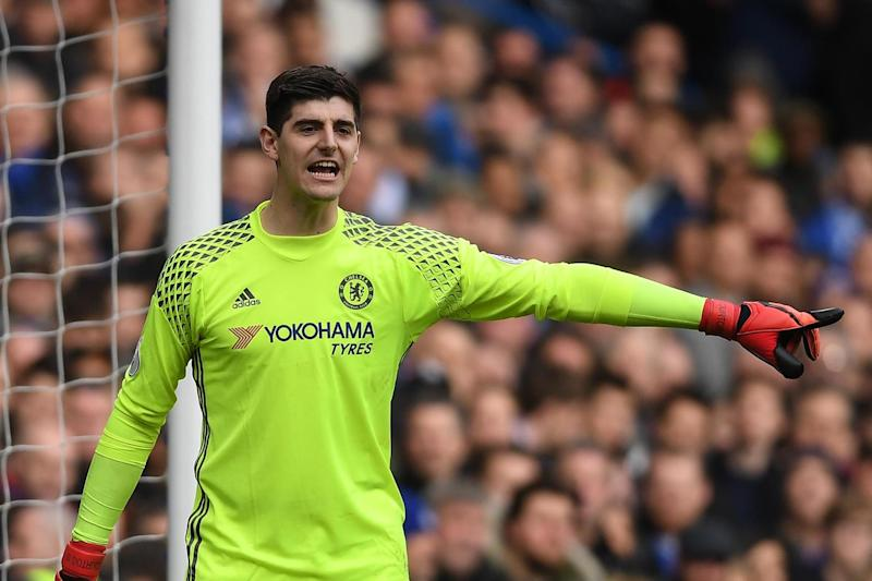 Courtois will miss the trip to Old Trafford: Getty Images