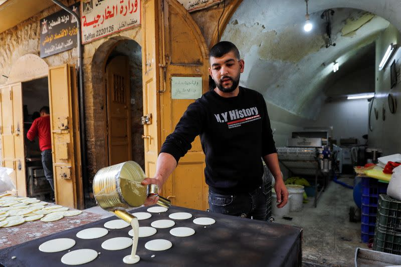 Palestinians prepare for the holy fasting month of Ramadan