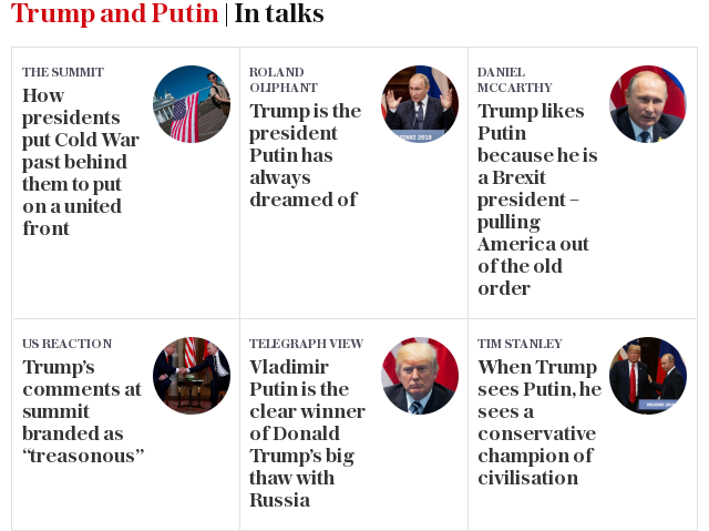 Trump and Putin | In talks