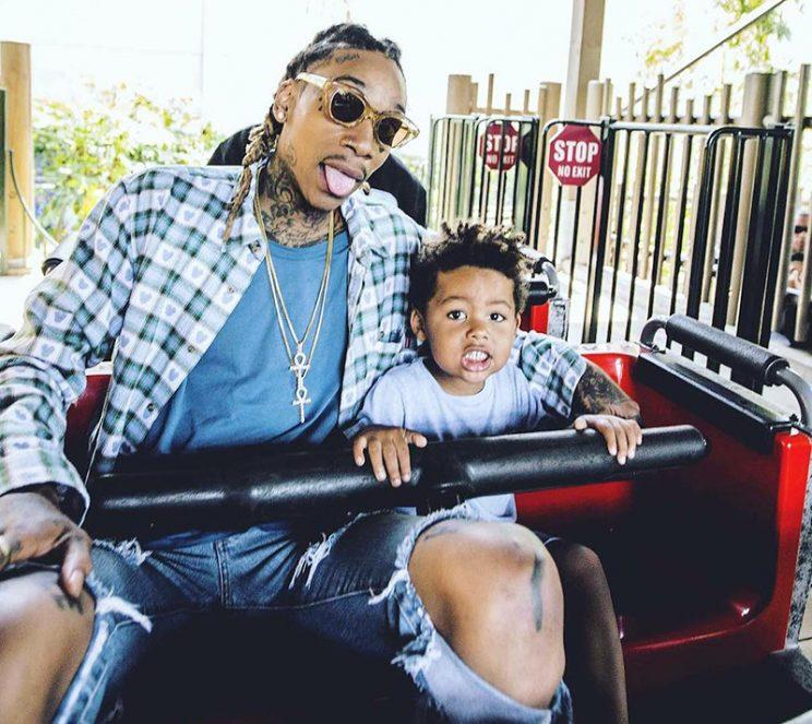 39a54dae45c21 Khalifa loves spending quality time with his son. (Photo  Instagram)