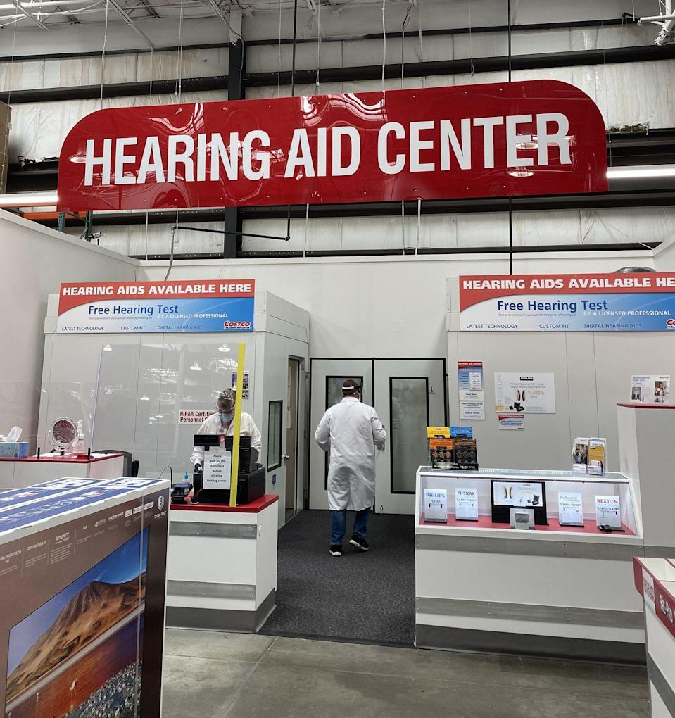 """<p>Besides Costco's Optical Center and Pharmacy, they also have a Hearing Aid Center, which offers a free hearing exam. It's definitely worth exploring the numerous discounts, including hearing aids, from their in-house brand <a href=""""https://www.costco.com/kirkland-signature.html"""" rel=""""nofollow noopener"""" target=""""_blank"""" data-ylk=""""slk:Kirkland Signature"""" class=""""link rapid-noclick-resp"""">Kirkland Signature</a>.</p>"""
