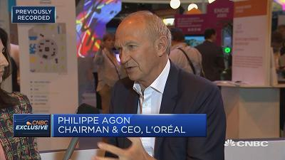"""The future of beauty will be digitalized,"" says L'Oreal Chairman and CEO Jean-Paul Agon."