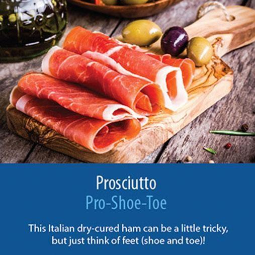 Proscuitto - so easy to eat, but a little trickier to say. Photo: www.sousvidetools.com