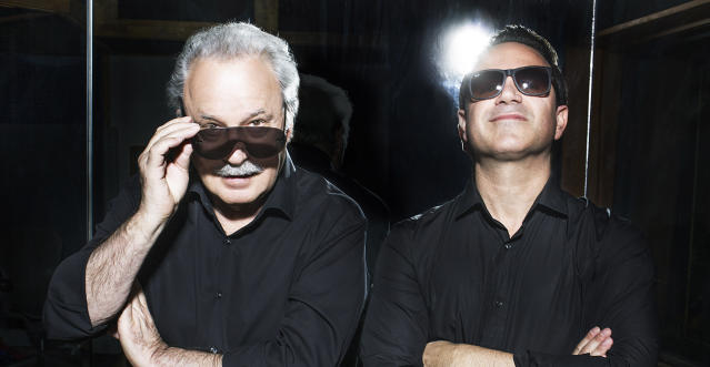 Giorgio Moroder and Raney Shockne (Photo: USA Network)