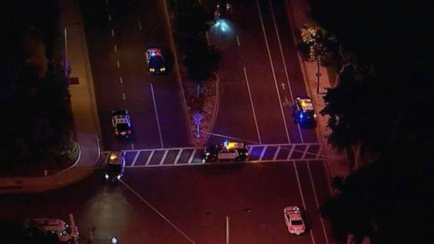 PHOTO: Two brothers were killed when they were hit by a car, in Westlake Village, Calif., Sept. 29, 2020. (KABC)