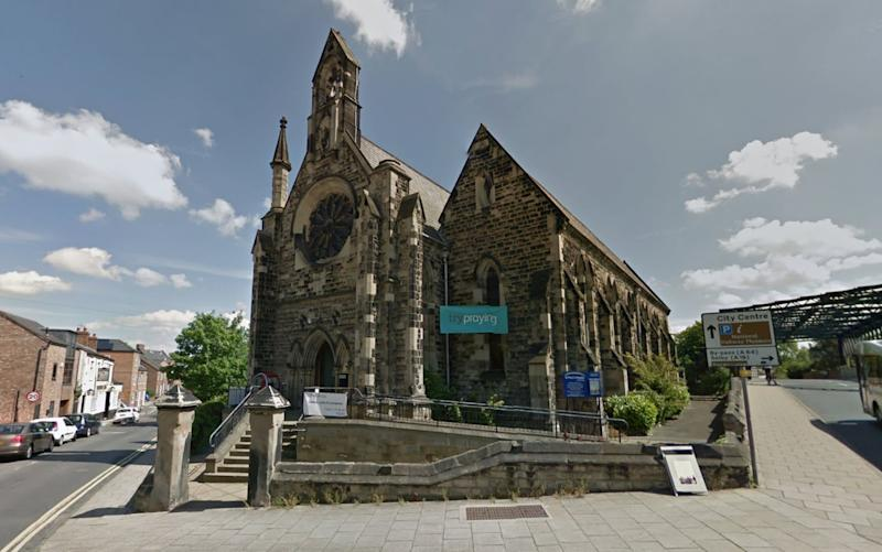 St Paul's Church in York - Google Streetview