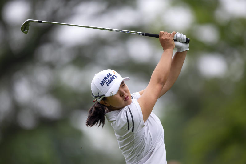South Korean Kim sprints away to win LPGA Marathon