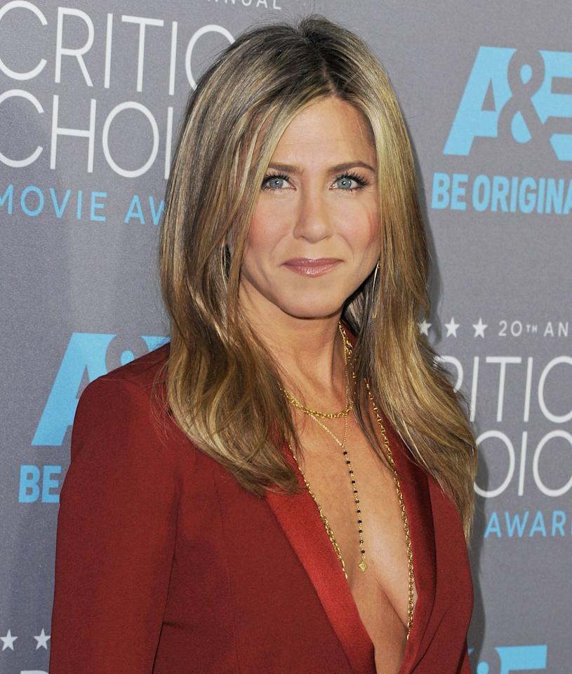 """<p>On <strong>February 11</strong>, actress Jennifer Aniston celebrated her 50th birthday with a <a href=""""https://www.instagram.com/p/Btthky1nZog/"""" target=""""_blank"""">star-studded party</a>. The <em>Friends</em> star proves that she hasn't aged a minute, thanks to body-sculpting workouts <a href=""""https://www.prevention.com/fitness/a25423499/jennifer-aniston-diet-boxing-routine/"""" target=""""_blank"""">like boxing</a> which keep her lean and toned.<em></em></p>"""