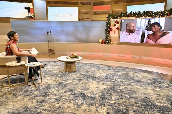 """TAMRON HALL – 12/16/20 – SHOW A – Coverage of """"Tamron Hall,"""" airs Wednesday, December 16, 2020 in syndication. (Walt Disney Television/Jeff Neira) TAMRON HALL"""