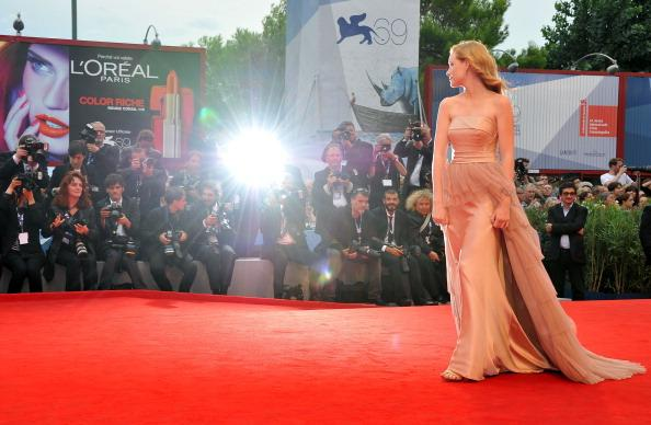 Actress Madisen Beaty attends 'The Master' Premiere during The 69th Venice Film Festival at the Palazzo del Cinema on September 1, 2012 in Venice, Italy. (Photo by Pascal Le Segretain/Getty Images)