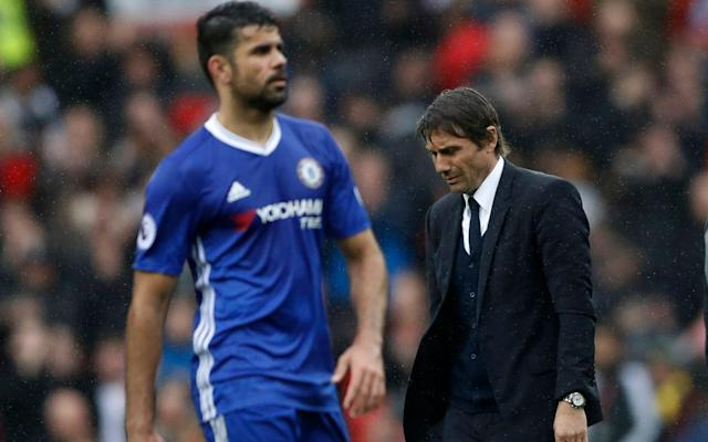 <span>Diego Costa's form has dipped since Chelsea rejected a January approach from Tianjin</span> <span>Credit: REUTERS </span>