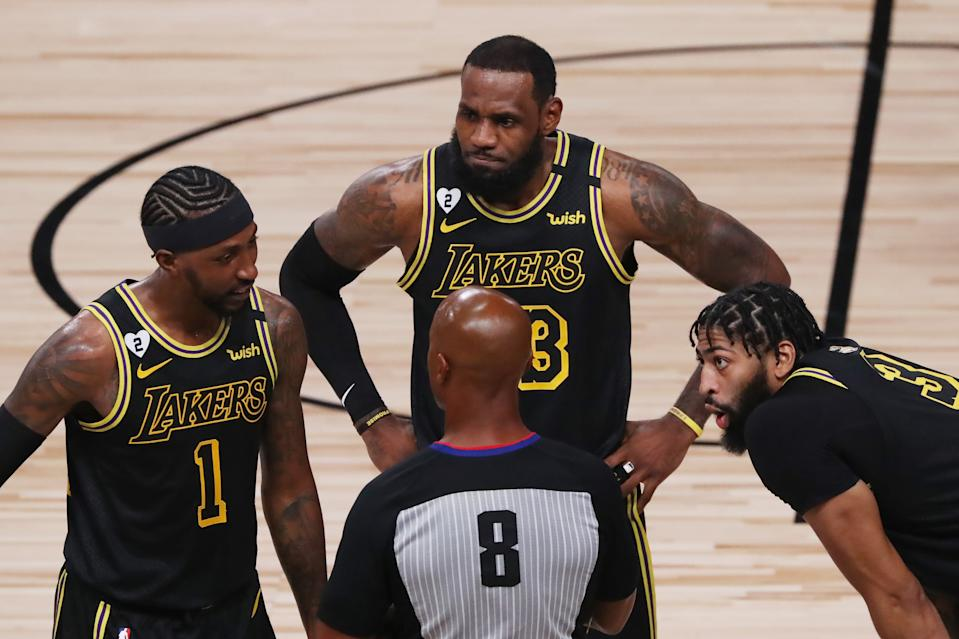 The dates of the NBA Finals might make it hard for LeBron James, Anthony Davis, and others to participate in the Olympics this summer. (Photo by Sam Greenwood/Getty Images)