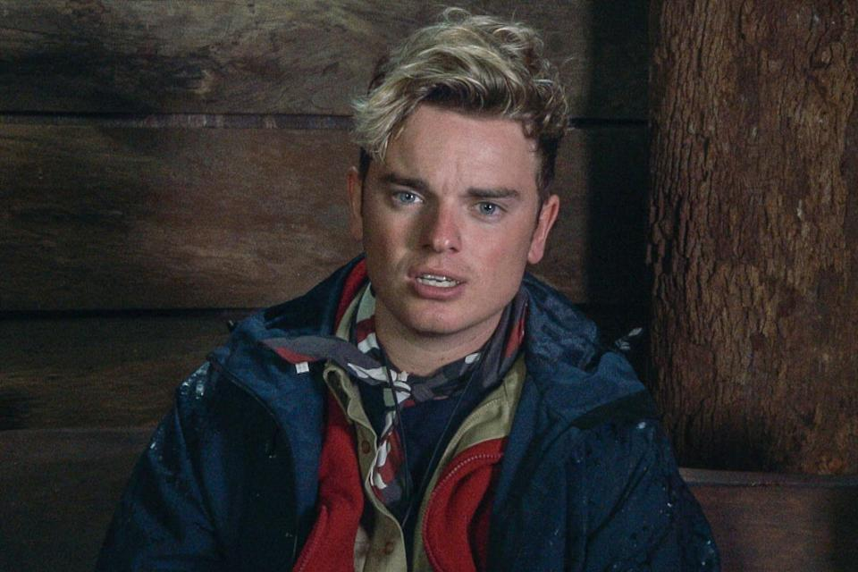 Jack Maynard was axed from I'm A Celeb after controversial old tweets resurfaced. Copyright: [ITV]