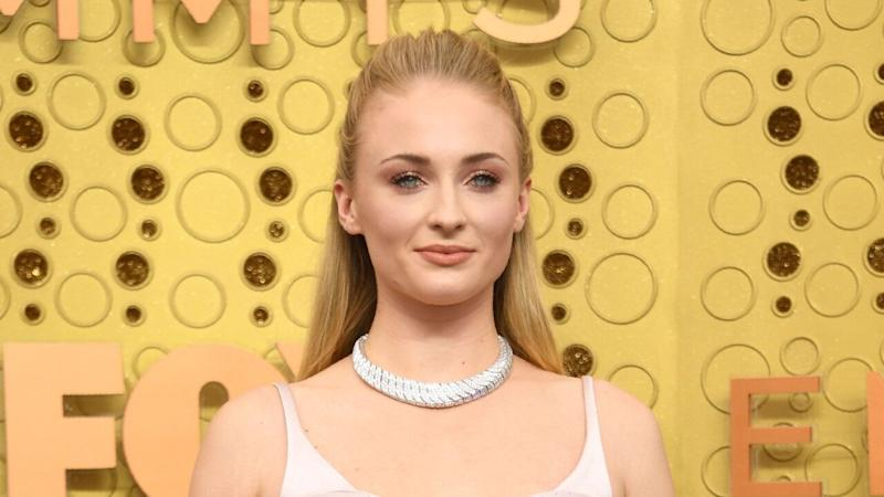Sophie Turner Is Breathtaking in Blush at 2019 Emmys
