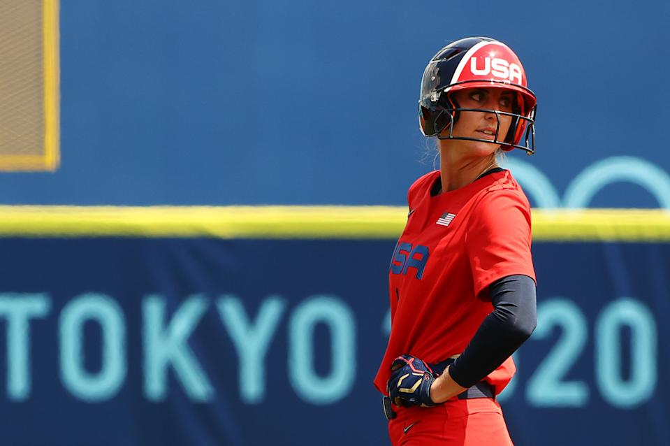Aubree Munro, Team USA and softball players as a whole need the Olympics to thrive. But they're all intertwined with baseball in the eyes of the Games, which is problematic. (REUTERS/Jorge Silva)