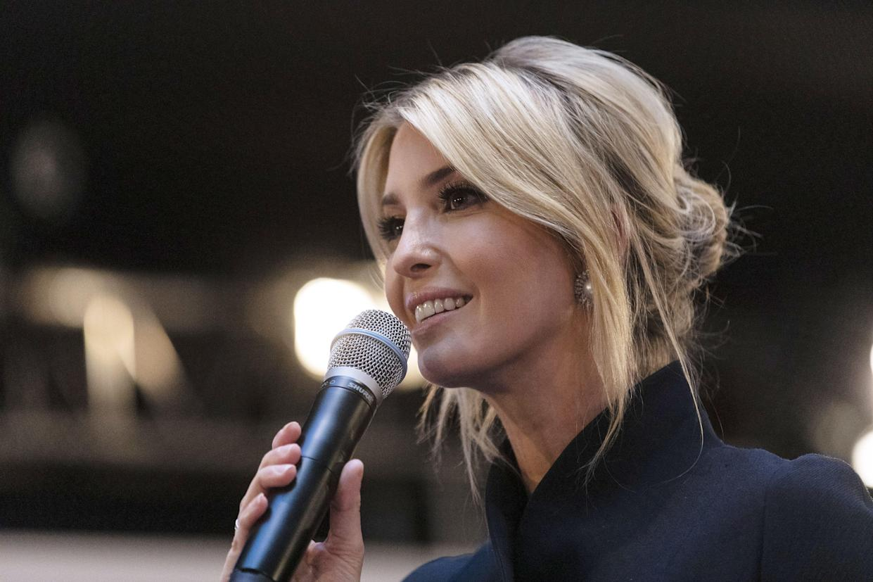 Ivanka Trump at a panel discussion at the Munich Security Conference in Germany. (Photo: Alex Kraus/Bloomberg)