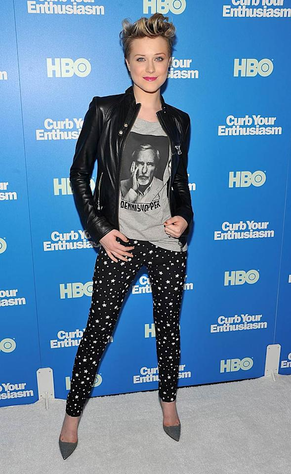 """Not everyone can pull off Evan Rachel Wood's cropped cut! Fortunately, the """"True Blood"""" actress, 23, has a fantastic face that allows her to stylishly demonstrate the 'do. Theo Wargo/<a href=""""http://www.gettyimages.com/"""" target=""""new"""">GettyImages.com</a> - July 6, 2011"""