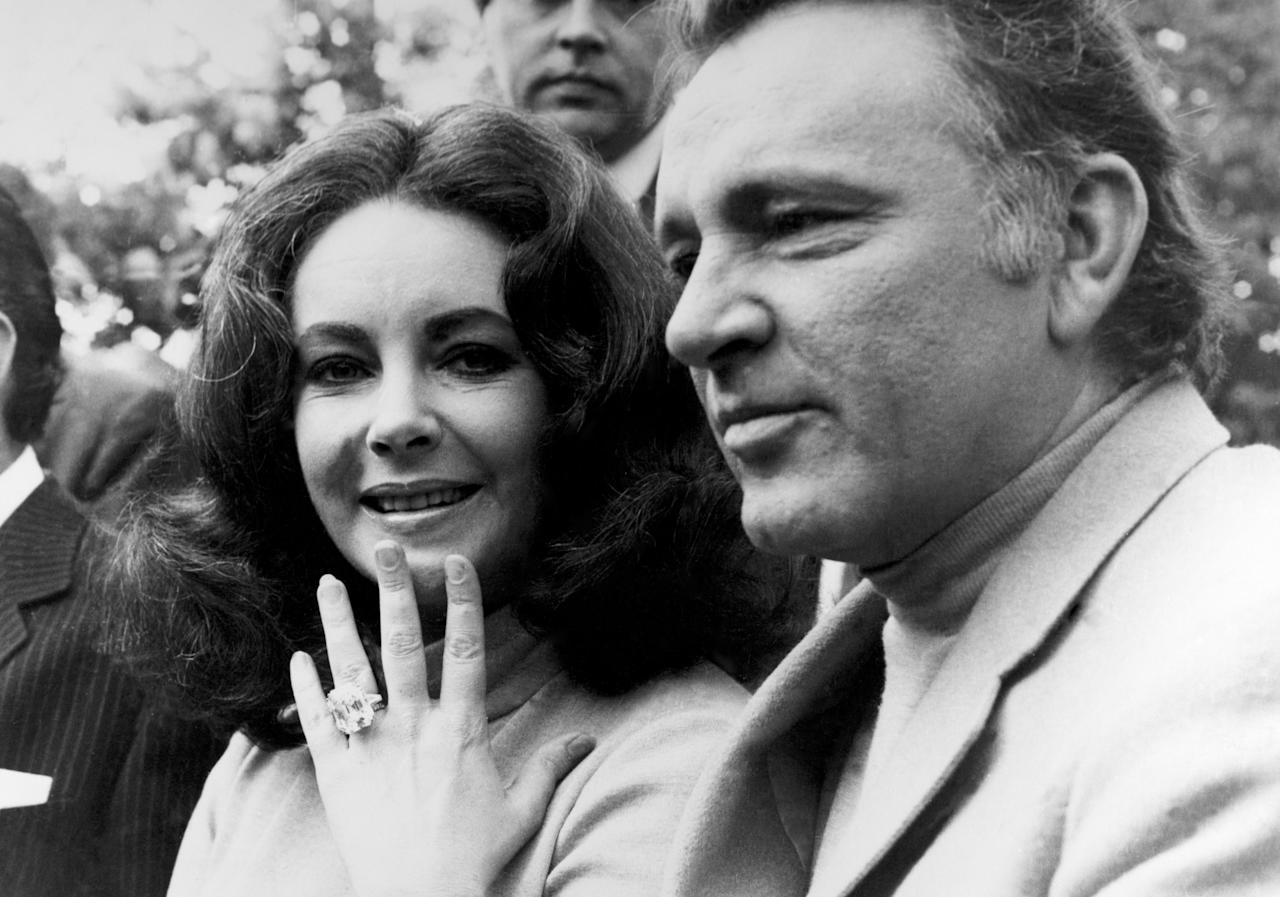 <p>Elizabeth Taylor didn't play games when it came to jewellery (or husbands). In 1968, Richard Burton gave Taylor a 33.19-carat Asscher-cut diamond with an estimated worth of <strong>$8.8 million <strong>(£6.8 million)</strong><span></span></strong>. It's no wonder she wore it for the rest of her life. </p>