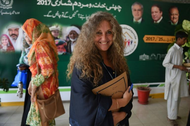 Nancy Stiegler has helped train enumerators in Pakistan to ensure that the population is as accurately assessed as possible -- especially making sure that all women were counted