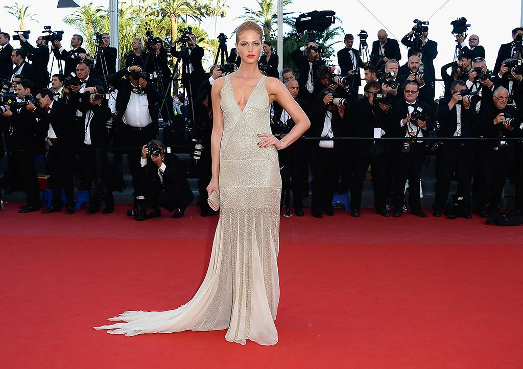 CANNES, FRANCE - MAY 21:  Erin Heatherton attends the 'Behind The Candelabra' premiere during The 66th Annual Cannes Film Festival at Theatre Lumiere on May 21, 2013 in Cannes, France.  (Photo by Pascal Le Segretain/Getty Images)