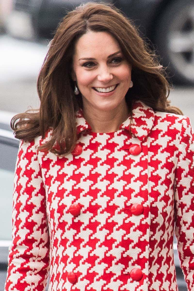 <p>The Duchess of Cambridge rocked a voluminous blowout with soft waves during the royal tour of Sweden and Norway. </p>