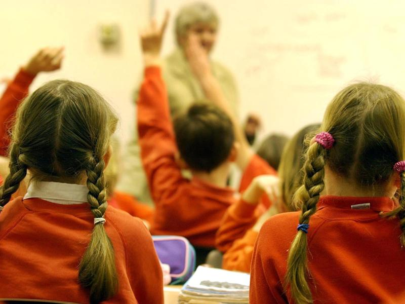 Reception pupils will have individual assessments with teachers under the new system: PA