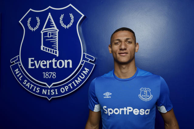 <p><strong>In:</strong> Richarlison (Watford, £40m), Yerry Mina (£30m); Lucas Digne (both Barcelona, £18m); Bernard (Shakhtar Donetsk, free); Kurt Zouma (Chelsea, loan); Andre Gomes (Barcelona, loan)<br><strong>Key Outs:</strong> Davy Klaassen (Werder Bremen, £12m); Ramiro Funes Mori (Villarreal, £4.4m); Wayne Rooney (DC United, free); Sandro (Real Sociedad, loan); Ashley Williams (Stoke, loan); Matthew Pennington (Ipswich Town, loan); Yannick Bolasie (Aston Villa, loan); Joel Robles (Real Betis, free); Mo Besic (Middlesbrough, loan); Cuco Martina (Stoke, loan); Nicola Vlasic (CSKA Moscow, loan); Jose Baxter (Oldham Athletic, free) </p>