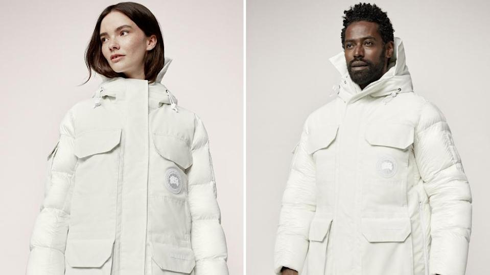The Standard Expedition Parka has a genderless and highly functional design. - Credit: Canada Goose