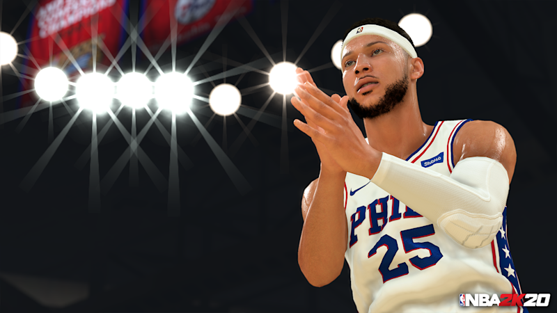 Ben Simmons and the rest of the NBA and WNBA have been painstakingly recreated in NBA2K20.