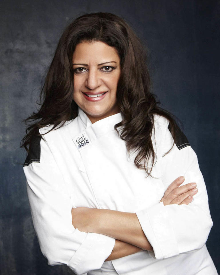 """HELL'S KITCHEN: Gina Aloise (Bronx, NY) is a contestant on Season 11 of """"Hell's Kitchen."""""""