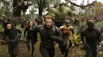 "<p> Infinity War marks the climactic end to 18 movies worth of storytelling. Dozens of Marvel heroes finally unite together for a thrilling finale that miraculously feels like an ending (despite a sequel being a known extension of the story upon release). The Russo Brothers cram the running time with stunning fights, conflicts, and team-ups, all while giving the villain Thanos a thoroughly convincing back story. And the Purple Titan's the real star, bringing all the loose plot strands together. Josh Brolin offers a laudable performance as the CGI being, helping create a character who is truly terrifying. </p> <p> Elsewhere, both the script and the cast do an admirable job of managing an incredible headcount, as almost the entire MCU tries to stop Thanos. The scale and ambition of Infinity War is a daring achievement, and that ending... oh, that ending haunted Marvel fans for an entire year before Endgame finally landed. </p> <p> <strong>Best superhero moment:</strong> ""You should have gone for the head"" *Snap* </p>"