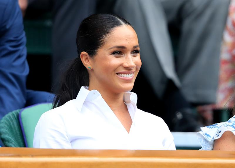 The Duchess of Sussex, pictured at Wimbledon. [Photo: PA]