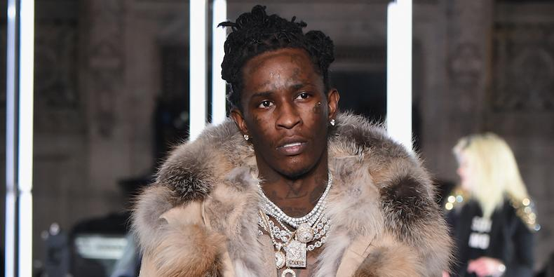 Young Thug Cleared of Felony Drug and Gun Charges
