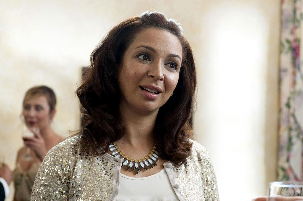 """Maya Rudolph, who plays the blushing bride-to-be in """"Bridesmaids,"""" is the daughter of soul singer Minnie Riperton. Riperton's most famous song, """"Lovin' You,"""" is dedicated to her daughter. At the end of the track, you can hear her singing """"Maya, Maya, Maya."""""""
